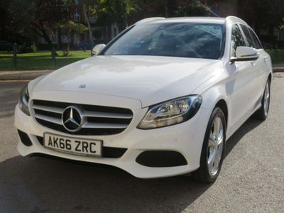 Mercedes-Benz C Class Estate 1.6 C200d SE Executive Edition G-Tronic+ (s/s) 5dr