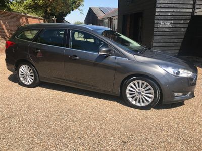 Ford Focus Estate 2.0 TDCi Titanium X Powershift (s/s) 5dr
