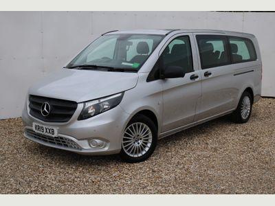 Mercedes-Benz Vito Minibus 2.1 119 CDi BlueTEC SELECT Tourer G-Tronic+ RWD L3 EU6 (s/s) 5dr