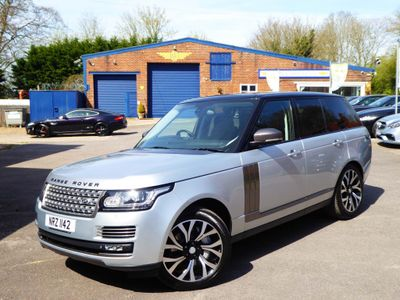 Land Rover Range Rover SUV 5.0 V8 Autobiography Auto 4WD 5dr
