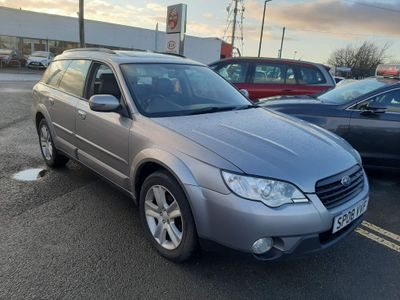 Subaru Outback Estate 2.5 SE 5dr (leather)