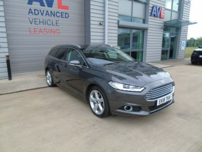 Ford Mondeo Estate 2.0 TDCi Titanium Edition (s/s) 5dr