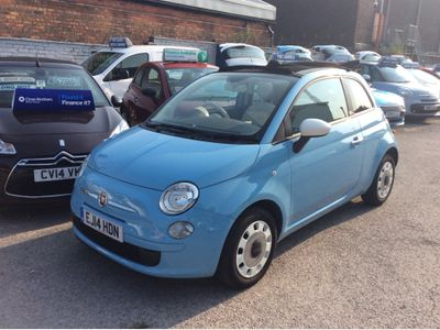 Fiat 500C Convertible 1.2 Pop 2dr