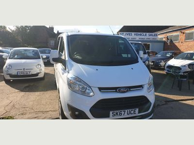 Ford Transit Custom Other 2.0 320 EcoBlue Limited DCIV L2 H1 EU6 (s/s) 5dr (6 Seat)