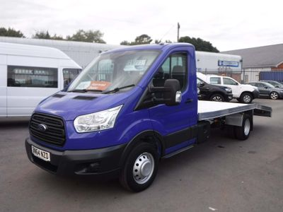 Ford Transit Dropside 2.2TDCI 125ps 350 16FT Car Transporter