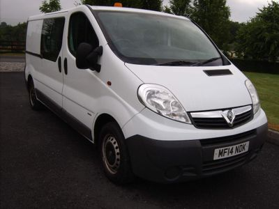 Vauxhall Vivaro Combi Van 2.0 CDTi 2900 Crewcab 5dr (SWB, EU5)