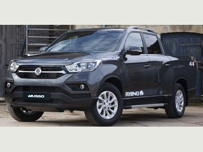 SsangYong Musso Pickup 2.2d Rhino Double Cab Pickup Auto 4WD LWB EU6 4dr