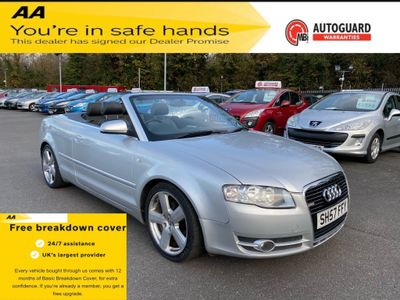 Audi A4 Cabriolet Convertible 2.0 TDI S line Cabriolet Multitronic 2dr