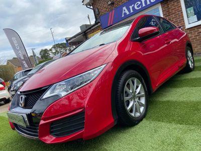 Honda Civic Hatchback 1.4 i-VTEC S (s/s) 5dr