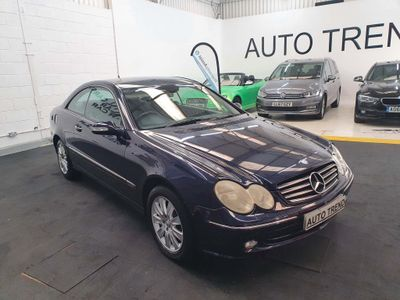 Mercedes-Benz CLK Coupe 3.0 CLK280 Elegance 7G-Tronic 2dr