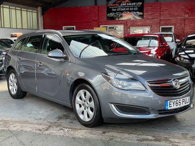 Vauxhall Insignia Estate 1.6 CDTi Tech Line Sports Tourer Auto (s/s) 5dr