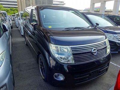 Nissan Elgrand MPV Black leather edi highway star top spec