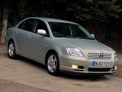 Toyota Avensis Saloon 2.0 VVT-i T3-X 4dr