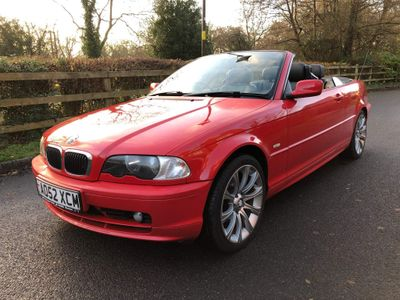 BMW 3 Series Convertible 2.0 318Ci 318 Auto 2dr