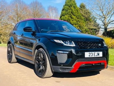 Land Rover Range Rover Evoque SUV 2.0 TD4 Ember Special Edition Auto 4WD (s/s) 5dr