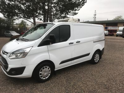 FORD TRANSIT CUSTOM Temperature Controlled 2.2 Custom L1 Trend Chiller Freezer Van