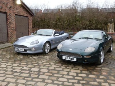 Aston Martin DB7 Coupe