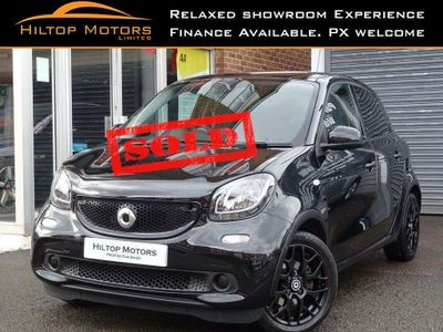 Smart forfour Hatchback 1.0 Edition Black Twinamic (s/s) 5dr