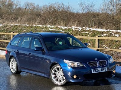 BMW 5 Series Estate 3.0 525d M Sport Touring 5dr