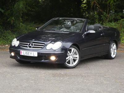 Mercedes-Benz CLK Convertible 3.5 CLK350 Avantgarde Cabriolet 7G-Tronic 2dr