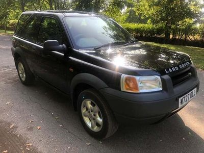 Land Rover Freelander Convertible 1.8 XEi Soft Top 3dr
