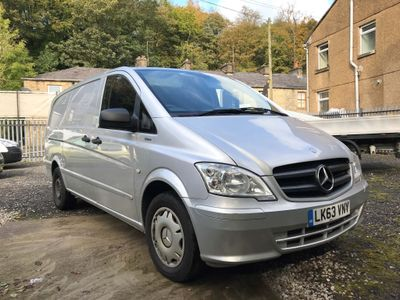 Mercedes-Benz Vito Panel Van 2.1 116CDI BlueEFFICIENCY Long Panel Van 5dr (EU5)