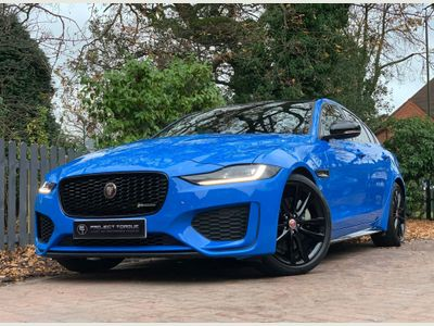 Jaguar XE Saloon 2.0i Reims Edition Auto (s/s) 4dr