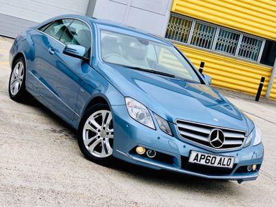 Mercedes-Benz E Class Coupe 2.1 E220 CDI BlueEFFICIENCY SE 2dr