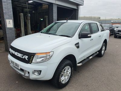 Ford Ranger Combi Van Pick Up Double Cab Limited 2.2 TDCi 150 4WD Auto