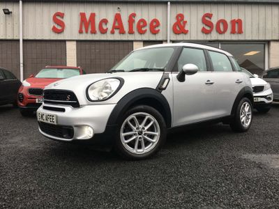 MINI Countryman SUV 2.0 Cooper SD (s/s) 5dr
