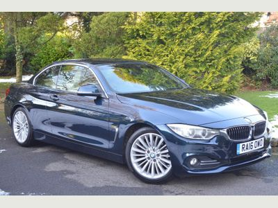 BMW 4 Series Convertible 2.0 420i Luxury Auto 2dr