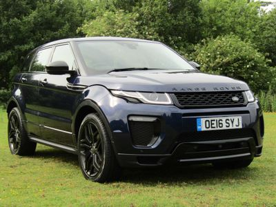 Land Rover Range Rover Evoque SUV 2.0 TD4 HSE Dynamic Lux Auto 4WD (s/s) 5dr