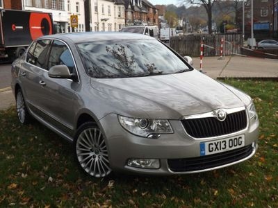 SKODA Superb Hatchback 2.0 TFSI Elegance (L&K Luxury Pack) DSG 5dr