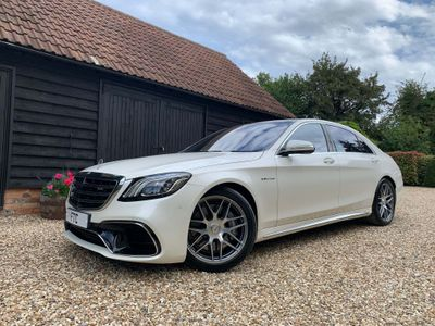 Mercedes-Benz S Class Saloon 4.0 S63L V8 AMG SpdS MCT (s/s) 4dr