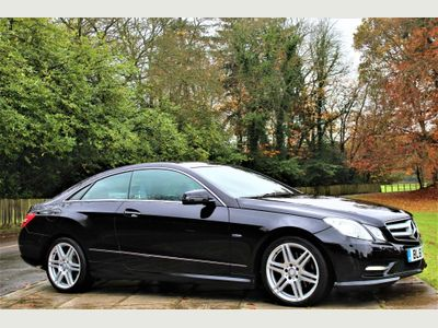 Mercedes-Benz E Class Coupe 2.1 E220 CDI BlueEFFICIENCY Sport Edition 125 7G-Tronic Plus (s/s) 2dr
