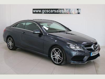 Mercedes-Benz E Class Coupe 3.0 E350 CDI BlueTEC AMG Line 9G-Tronic Plus 2dr