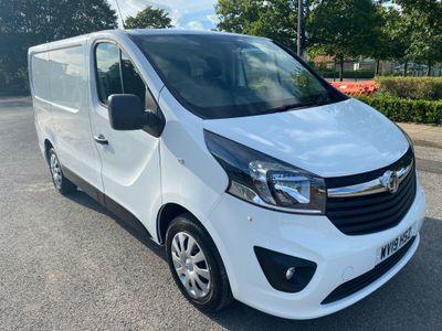 Vauxhall Vivaro Panel Van 1.6 CDTi 2700 Sportive L1 H1 EU6 5dr