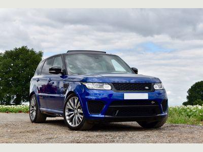 Land Rover Range Rover Sport SUV 5.0 V8 Supercharged SVR 4X4 (s/s) 5dr