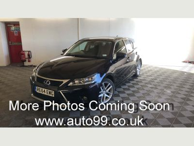 Lexus CT 200h Hatchback 1.8 200h Advance CVT (s/s) 5dr