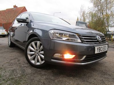 Volkswagen Passat Saloon 1.6 TDI BlueMotion Tech Highline (s/s) 4dr