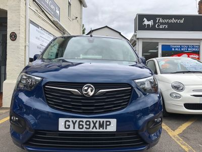 Vauxhall Combo Life MPV 1.2 Turbo Energy (s/s) 5dr (7 Seat)