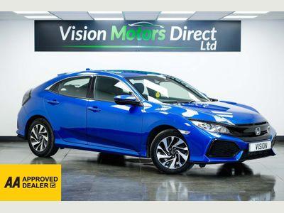 Honda Civic Hatchback 1.0 VTEC Turbo SE (s/s) 5dr
