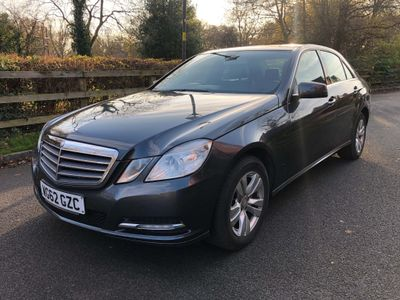 Mercedes-Benz E Class Saloon 2.1 E220 CDI BlueEFFICIENCY SE 7G-Tronic Plus (s/s) 4dr