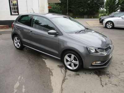 Volkswagen Polo Hatchback 1.4 TDI BlueMotion Tech SEL (s/s) 3dr