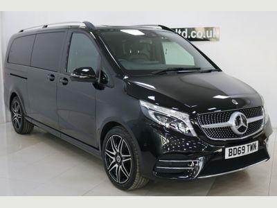 Mercedes-Benz V Class MPV 2.0 V220d AMG Line G-Tronic+ XLWB EU6 (s/s) 5dr 8 Seat XLWB