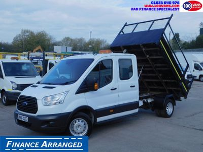 Ford Transit Tipper 2.2TDCI 125PS DOUBLECAB UTILITY TIPPER