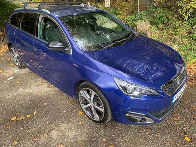 Peugeot 308 SW Estate 2.0 BlueHDi GT Line 5dr