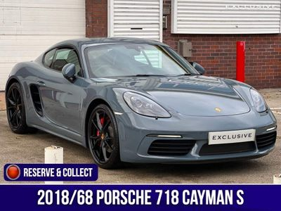 Porsche 718 Cayman Coupe 2.5T S PDK (s/s) 2dr