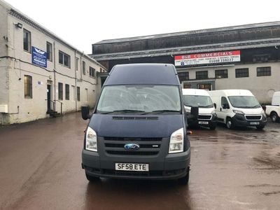 Ford Transit Minibus 2.4 TDCi Duratorq 430 EL High Roof Bus DPF 5dr (Extra Long, 17 Seat)
