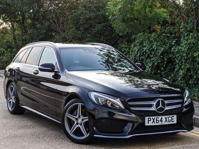 Mercedes-Benz C Class Estate 2.1 C220 CDI BlueTEC AMG Line G-Tronic+ (s/s) 5dr